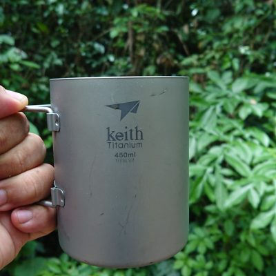 Keith: Double-Wall Titanium Mug