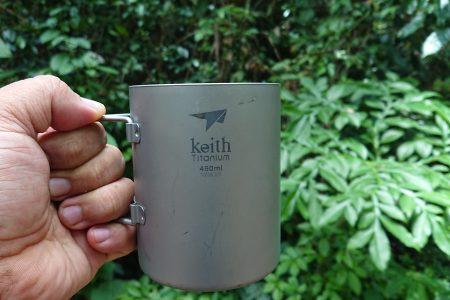 Keith: Double-Wall Titanium Mug